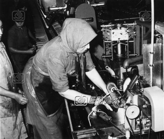İpek Dokuma Fabrikası kadın işçi, 1983