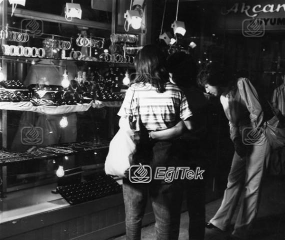 Kapalı Çarşı kuyumcular, 1983